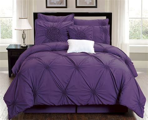 park polyester solid tufted 7 comforter set 28 images