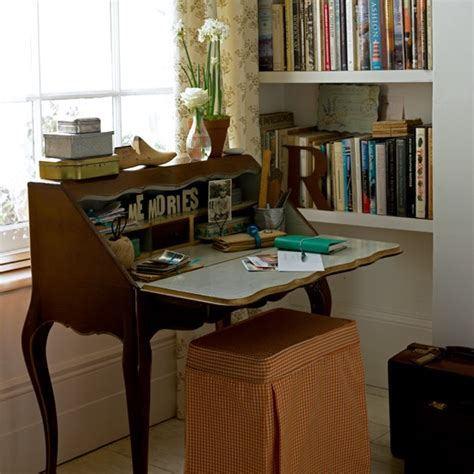 vintage style home office decorating ideas image