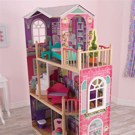 dollhouse 18 inch doll kidkraft 18 inch colorful dollhouse doll manor with jumbo