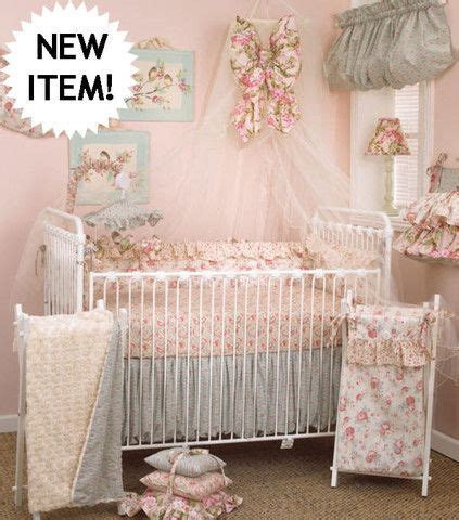 shabby chic baby nursery baby crib bedding pinterest