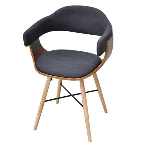 Bentwood Dining Chair 6 Pcs Dining Chair Bentwood With Fabric Upholstery Vidaxl Au