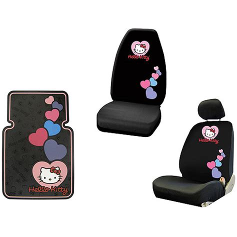 Hello Floor Mats Walmart by Hello Seat Cover And Floor Mat Bundle From