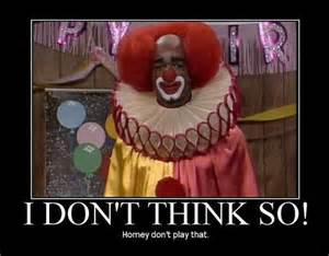 in living color homey the clown be still a minute evolution of a clown