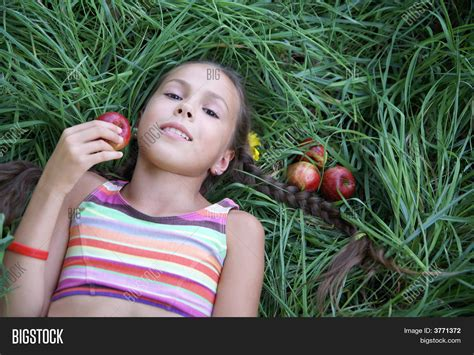 preteen photo preteen girl with apples stock photo stock images bigstock