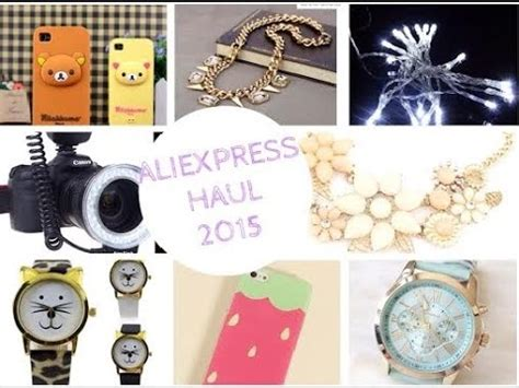 aliexpress haul review 2015 ring flash lights