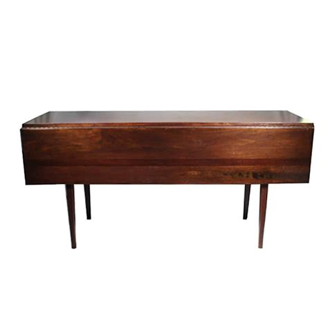Hibriten Furniture by Midcentury Walnut Drop Leaf Dining Table By Hibriten At