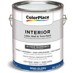 walmart interior paint colors colorplace interior paint semi gloss ab 1 gal walmart