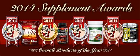 2014 supplement awards 2014 product ratings