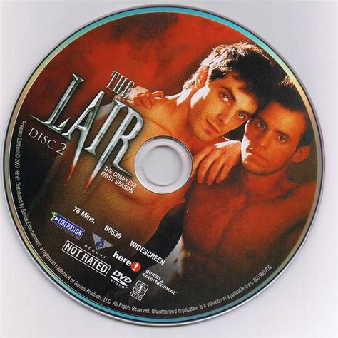 the lair the lair season 1 scanned dvd labels the lair season 1