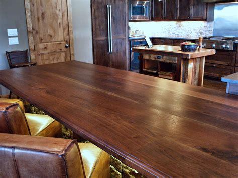 Walnut Slab Bar Top Slab Walnut Wood Countertop Photo Gallery By Devos Custom