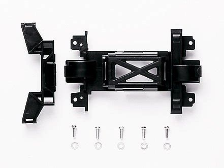 Ms Reinforced Chassis Set White95246 tamiya 15363 jr pro reinforced gear cover ms chassis