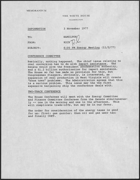 Memo Writing Definition Memorandum