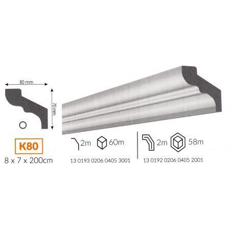 cornici in polistirene profilo cornice da soffitto k80 in polistirene