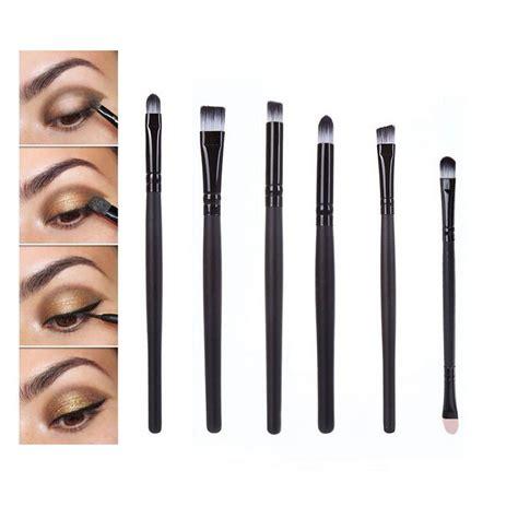 Jual Kuas Makeup 1 Set aliexpress buy bittb 6ps eye makeup brushes set kit tools eyeshadow eyebrow eyeliner