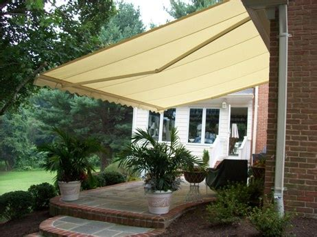 garage awnings awnings in gaithersburg md gaithersburg garage door