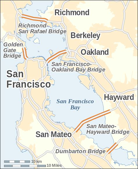 san francisco bridges map original file svg file nominally 270 215 330 pixels