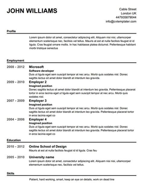Resume For Teenager With No Job Experience by Free Printable Resume Builder 2017 Learnhowtoloseweight Net