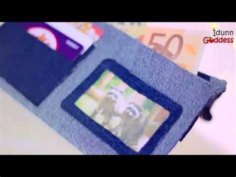 Dompet Jins cara membuat dompet dari celana jins bekas