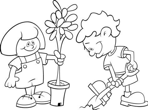 imagenes para colorear medio ambiente medio ambiente dibujos para pintar imagui