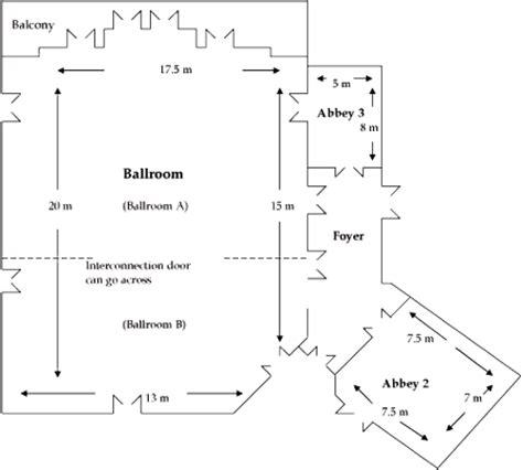 wedding floor plan for elongated room busselton wedding ballroom reception venue