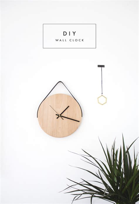 minimalistic wall clock minimalist wall clock home decorating trends homedit