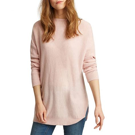 lilly boat neck sweater pink marl lilly boat neck sweater brandalley