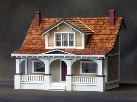 scale classic bungalow dollhouse kit