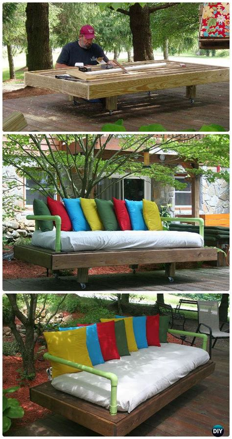 diy outdoor patio furniture ideas  plan picture