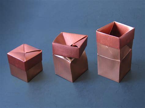 Origami Twist - one twist box anine cleve christensen happy folding