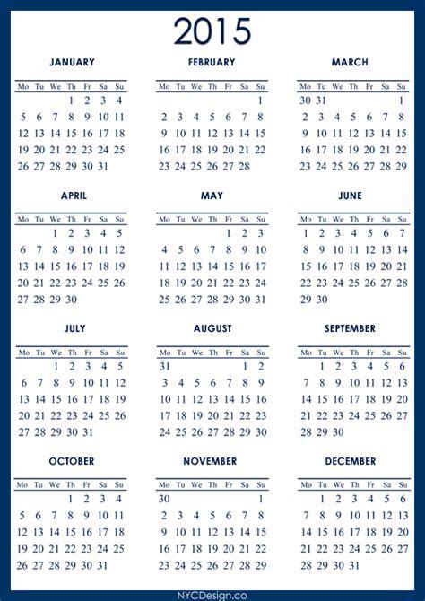 printable calendar review image gallery 2015 year printable
