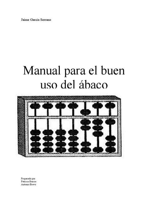 libro el buen uso de manual para el buen uso del 225 baco