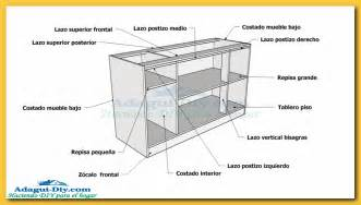 Woodworking Plans Reviewed by Como Hacer Muebles De Cocina Plano Mueble Bajo Mesada De Melamina Woodworking Plans De Cocina