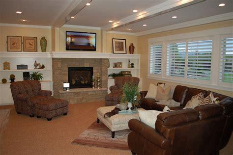 beautiful traditional basement designs