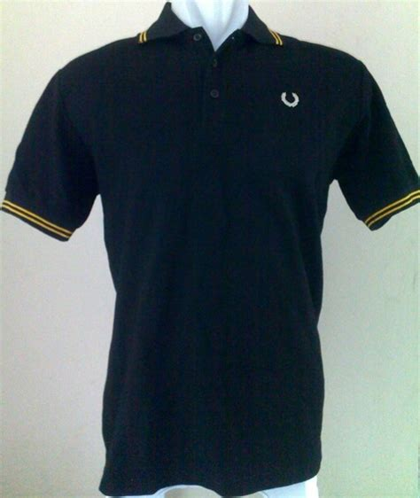 Kaos Fred Perry Army pin kaos polo 003 004 on