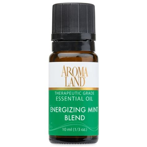 Beautyzen 8 To 8 Energizing 10ml energizing mint essential blend aromaland