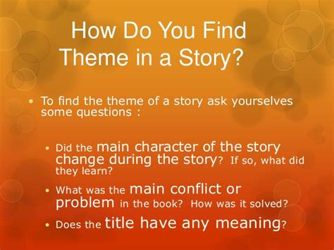 how to develop a theme when writing with pictures wikihow what are the main elements of a story mind42