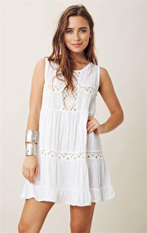 Dress Babydoll jen s pirate happy babydoll dress in white lyst