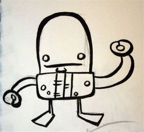 Drawing Robot by A Million Bad Drawings Bad Robot Drawing 18