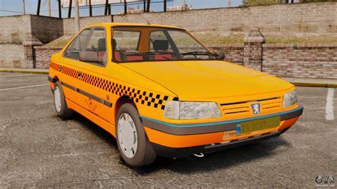 peugeot taxi peugeot 405 glx taxi for gta 4