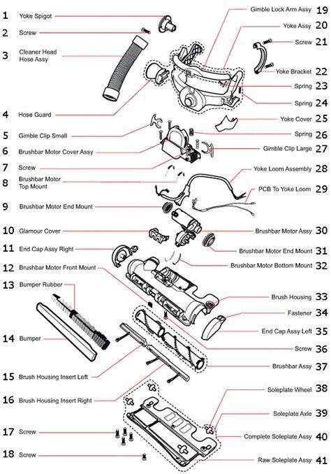 dyson vacuum parts diagram dyson dc15 partswarehouse