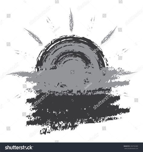 Black Sun Blank Template Sticker Label Stock Illustration 296702480 Shutterstock Sun Label Template