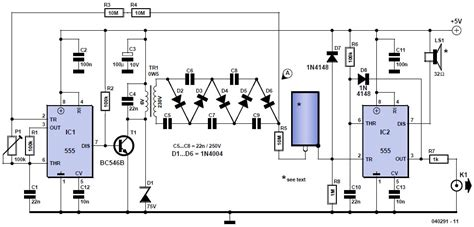 geiger counter diagram sensor radiation circuit sensors detectors circuits