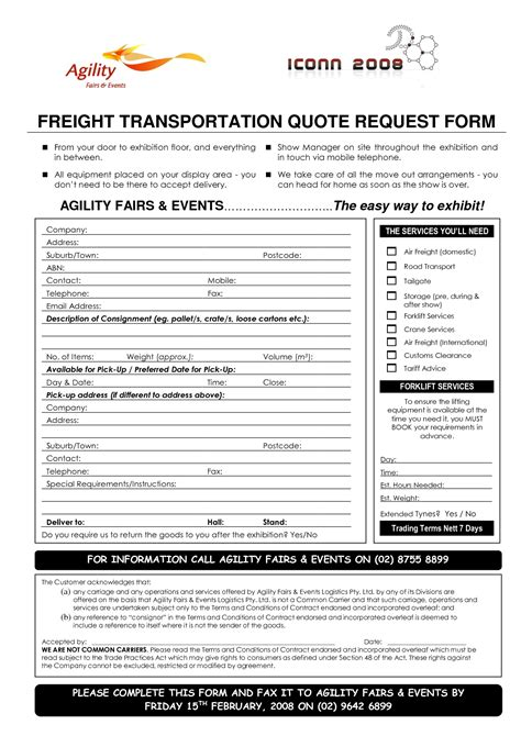Freight Forwarder Quote Template best photos of shipping request form template ups shipping request form template ups shipping