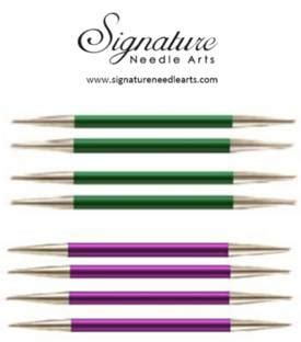signature knitting needles signature needles point needles set of 5