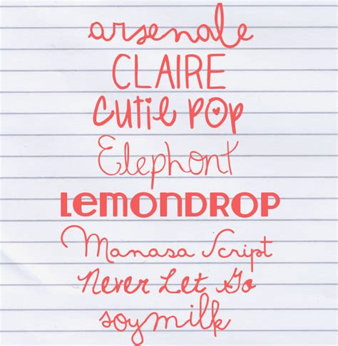 dafont cute cute fonts for your blog our summer project