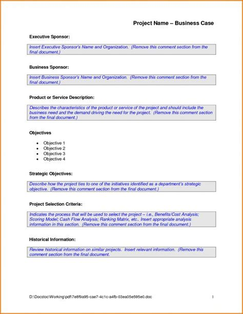 Cost Analysis Requirements Description Card Template by Analysis Template Template Business