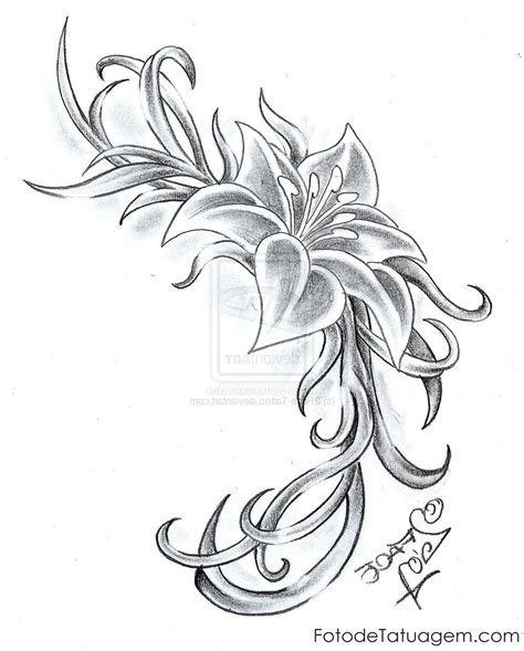 tattoos de flores lotus flower tattoos 1 models picture