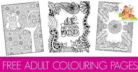 Free For - free colouring pages for adults in the madhouse