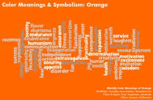 what does the color orange represent color meanings color symbolism meaning of colors