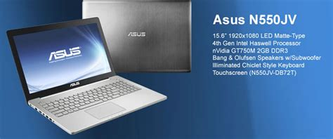 Asus N550jk Ds71t Gaming Laptop Intel I7 4700hq asus n550jk ds71t for intel haswell i7 4700hq 2 4ghz 3 4ghz processor agearnotebooks